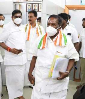 Farmers bill pondicherry cm narayanasamy