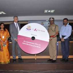 Bank account details share related Short Film released chennai police commissioner