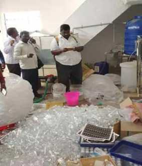 Non-standard drinking water treatment plant in Ambur! Officers action!