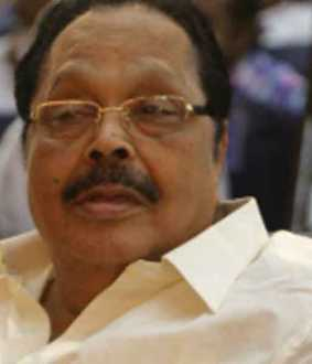 DMK treasurer admitted to hospital