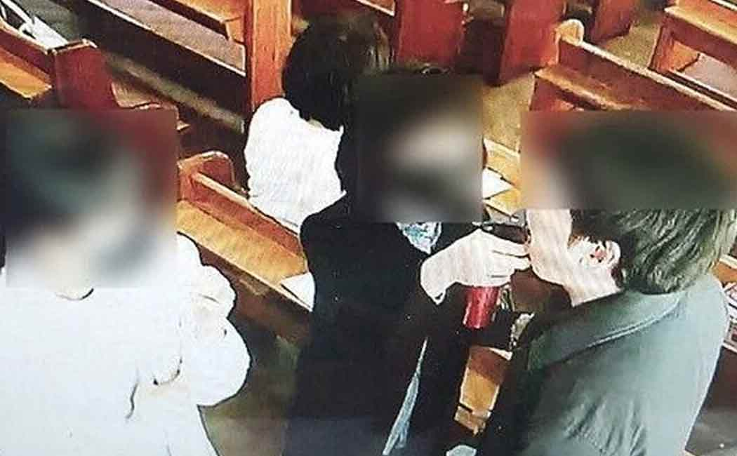 corona virus spreaded in southkorean church