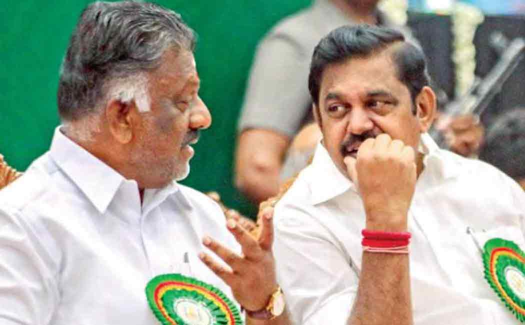 ops and eps plan for tamilnadu corporation election