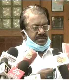 dmk party tks elangovan press meet