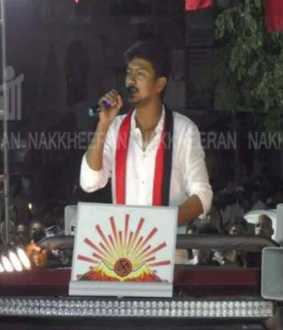 udayanidhi stalin election campaign