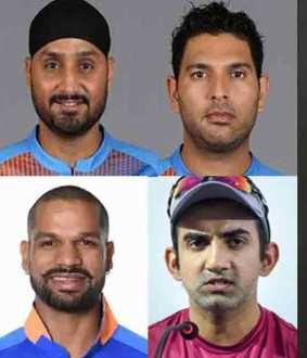 indian players against afridi