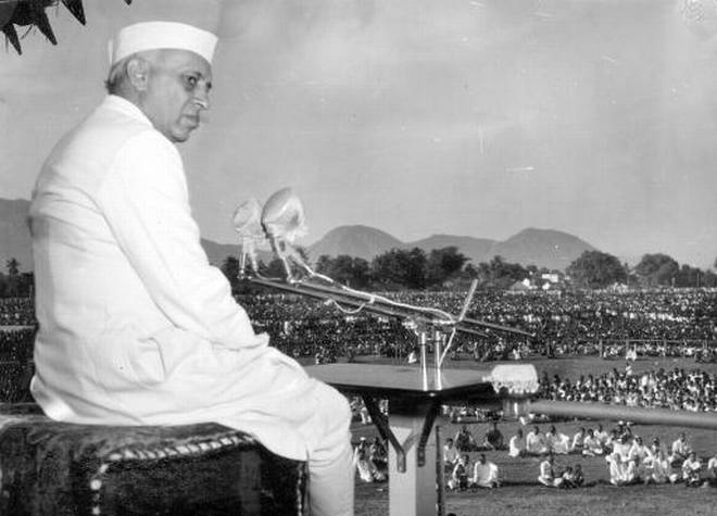 Nehru at Salem