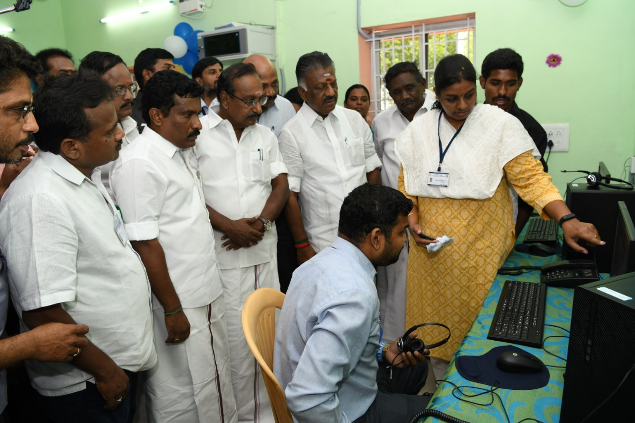 deputy chief minister ops hospitable to DMK MLAs