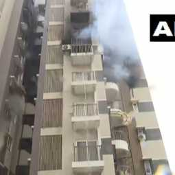 GUJARAT AHMEDABAD ONE APARTMENT INCIDENT 2 PERSON ADMIT AT HOSPITAL