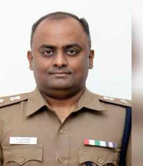 New SP for Thiruvannamalai district