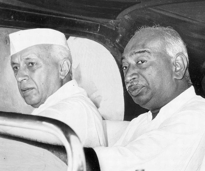nehru with kamaraj