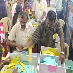 LOCAL BODY ELECTION COUNTING THOOTHUKUDI 10 VOTES WINNING CANDIDATE