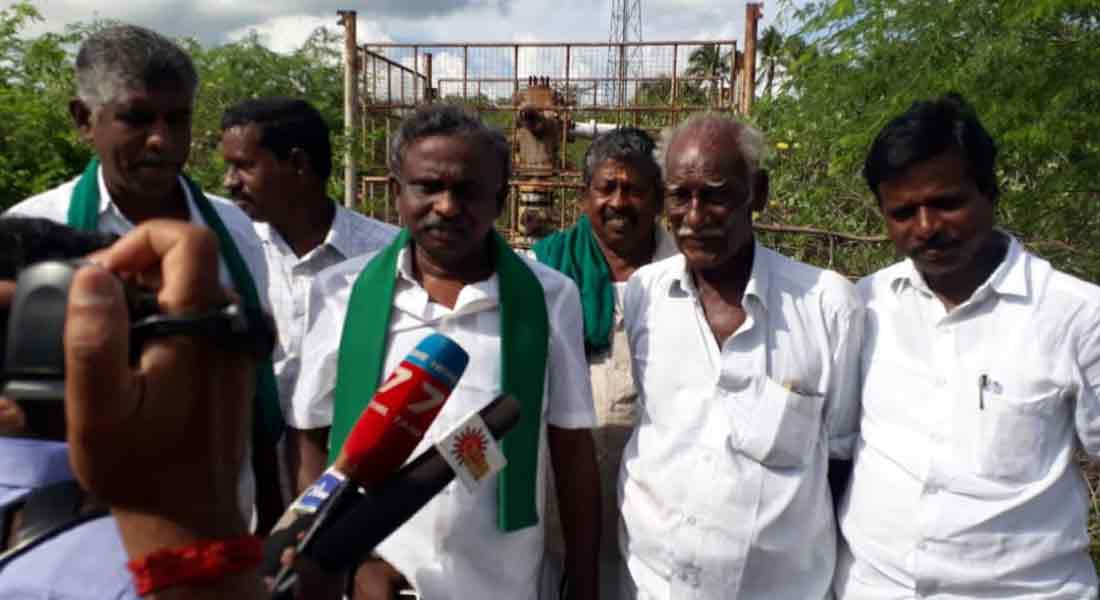 Pollution risk at ONGC oil well; Thiruvarur tension