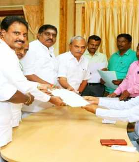 puducherry byasssembly election nomination filed in admk and congress