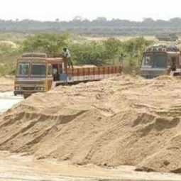 The government's plans are only on a large scale ... Court should be tested- Court warns in sand smuggling case
