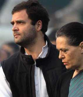 sonia gandhi returns to india after medical checkup