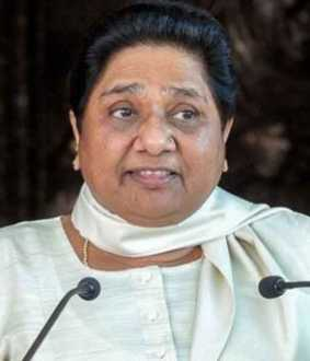 Mayawati does not have a meeting with Rahul Gandhi and sonia gandhi