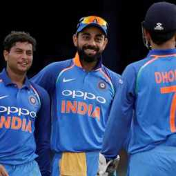 kuldeep feels the heat over his statement on dhoni's tips in field