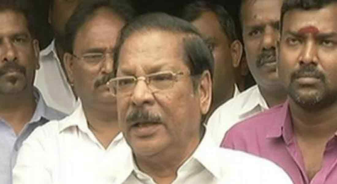 RS Bharati notice for defamation of Murasoli land