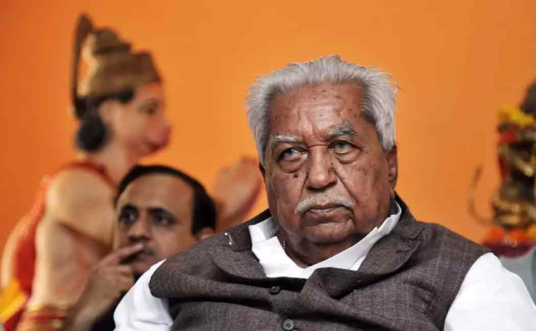 keshubhai patel passed away