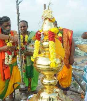 Murugan Temple consecrated Festival in Tamil