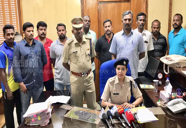 puducherry students and tourist cannabies sales activities police arrested