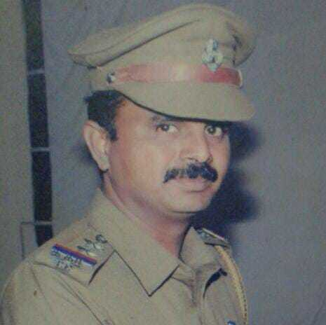 Velankanni police inspector while working on a heart attack