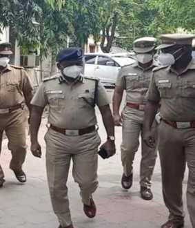 dindigul district palani incident theater owner arrested