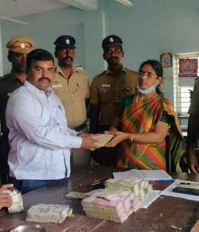 51 lakh rupees confiscated without proper documents