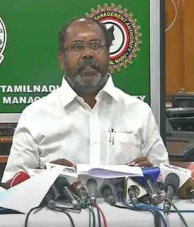 cyclone prevention minister udhayakumar press meet at chennai