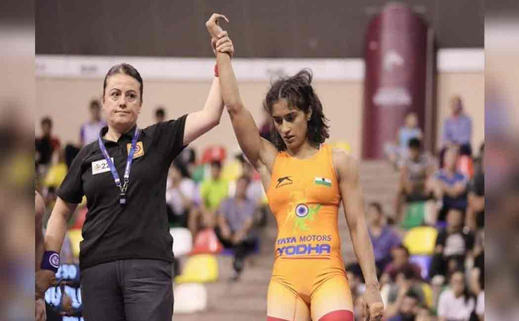 vinesh phogat qualified for olympics 2020 from india