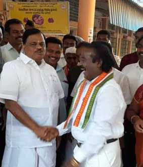 'It's just like this ... we will be friendly with DMK and ADMK !!