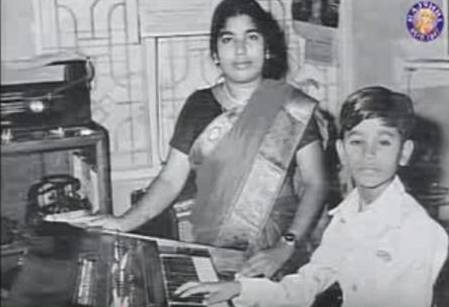 a.r.rahman with mother
