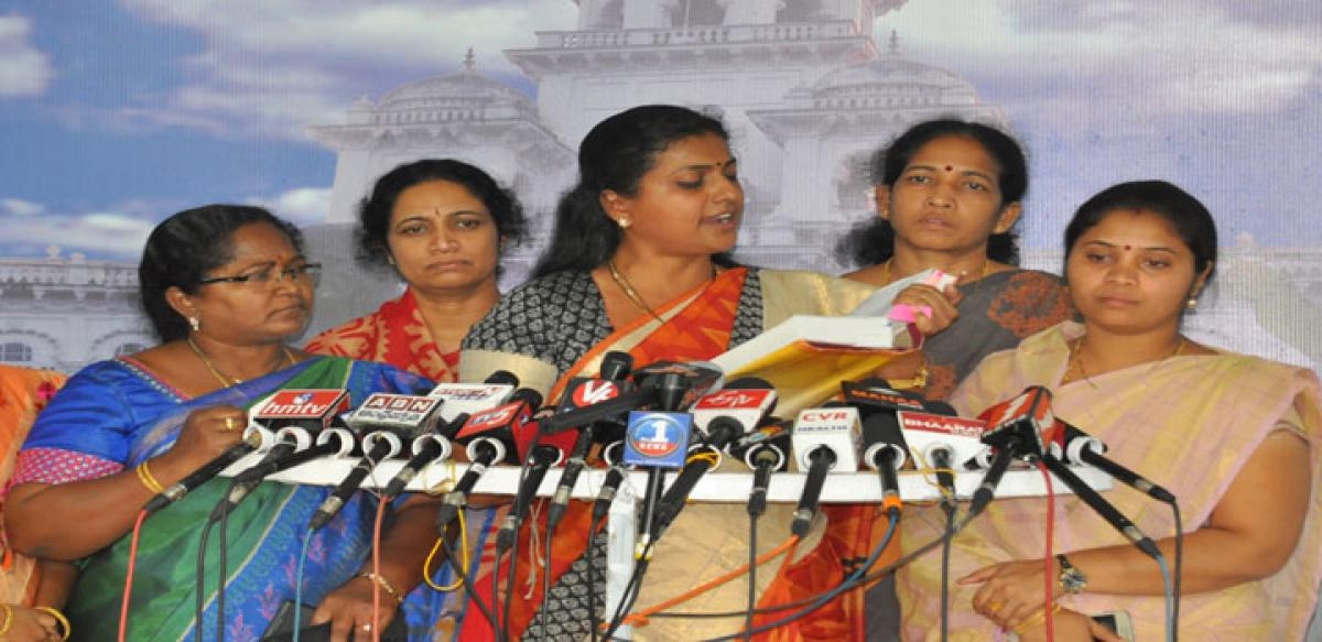 ANDHRA GOVERNMENT PROVIDE ONE POSTING FOR ROJA