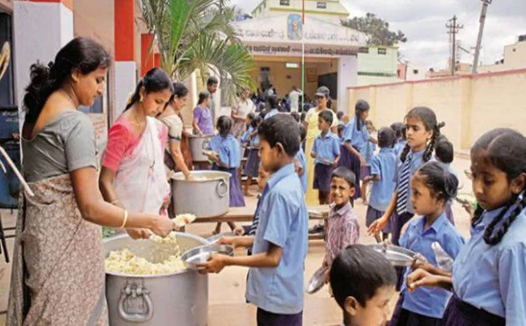 School children lunch issue
