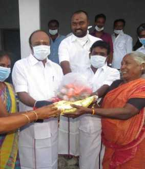 sivagangai district admk and dmk parties coronavirus lockdown