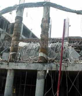 Namakkal New Government Medical College 'Portico' collapses!
