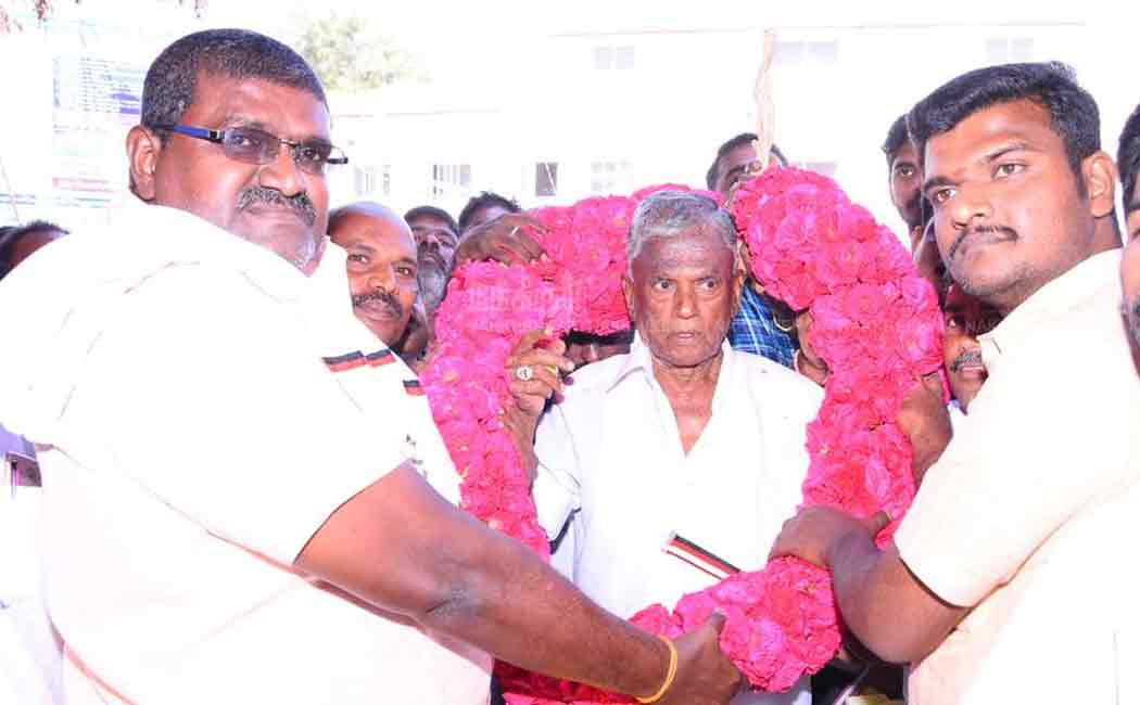 dindigul dmk candidate become union president