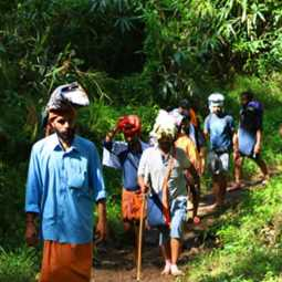 Devotees going to Sabarimala ahead of local elections