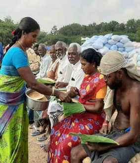 farmers rice sales online other farmers follow up the instruction in sivagangai district