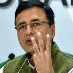 surjewala about rahul gandhis foreign trip