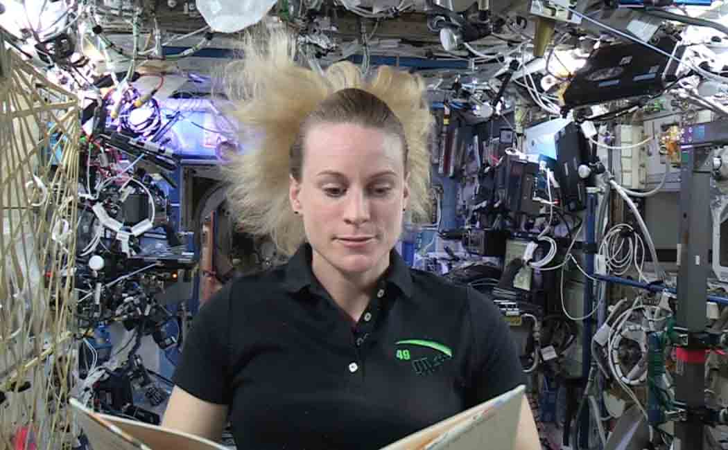 Kate Rubins to vote from space in usa president election