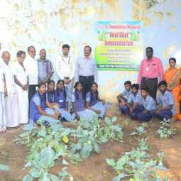 Inauguration of Farming Process for Farmers