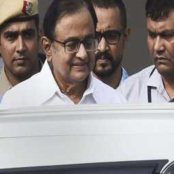 inx media scam former union minister p chidambaram not get Not even a pillow