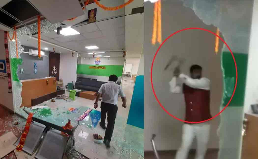 iifco tokio office vandalised in pune
