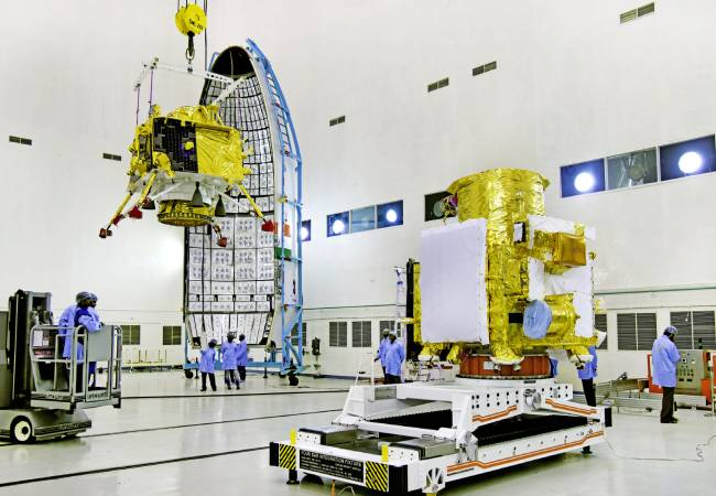 GSLV MARK 3 ROCKET CHANDRAYAAN 2 SATELITE LAUNCHED TOMORROW COUNT DOWN START