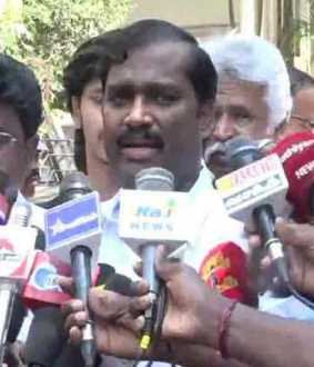 '' Tamil work is for Tamils ​​'' - Velmurugan demonstration