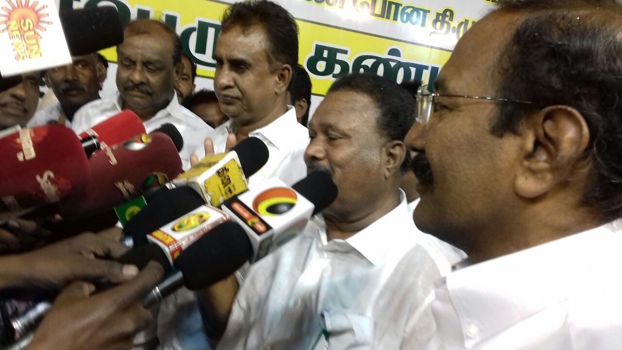 Ready to meet the case-Minister Velumani