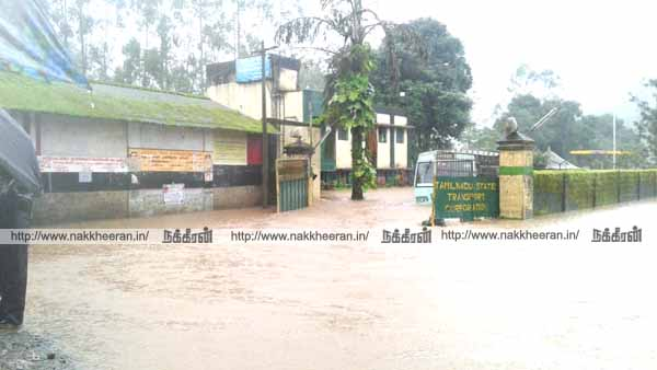 Flooding in Valparai