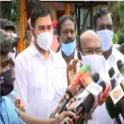minister jayakumar press meet in chennai