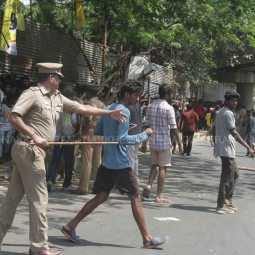 Fans gathered to buy tickets in Chennai Cheppakam for csk vs MI match